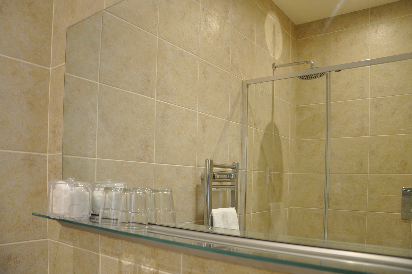 the old plough caldecott shower